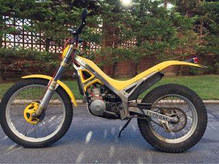 Moto gas gas 125cc