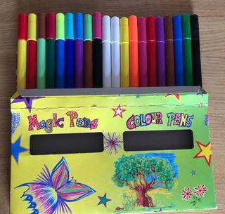 Rotuladores Magic pens