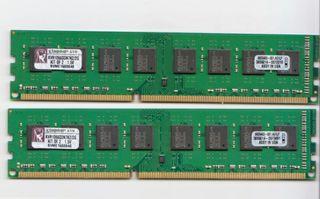 Kingston KVR1066D3N7K2/2G DDR3-1066