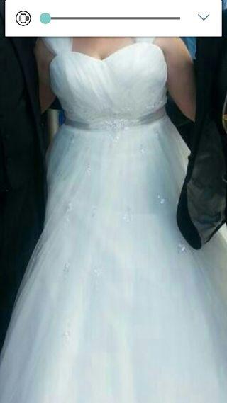 vestido de novia de segunda mano en gijón en wallapop