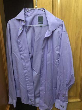 Camisa de traje Calvin Klein
