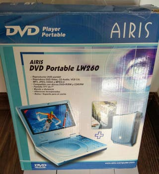 DVD Portatil para coche