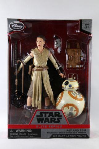 Star Wars Élite Series Figura Rey y BB-8 Die-cast