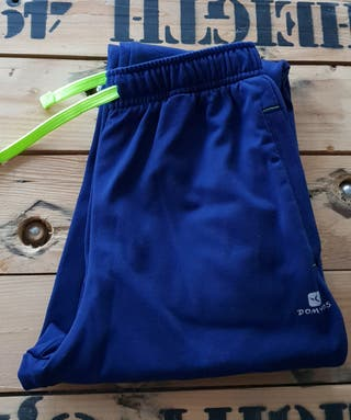 Pantalón chándal ajustado azul