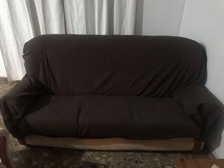 Se vende conjunto de sofá + 2 sillones