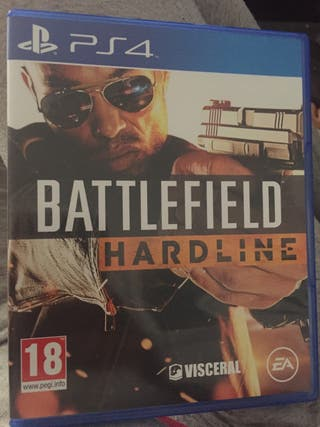 Juego battlefield hardline ps4