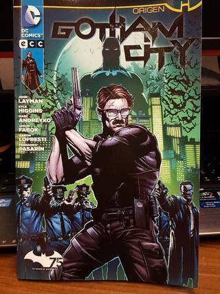 Comic Gotham City Origen
