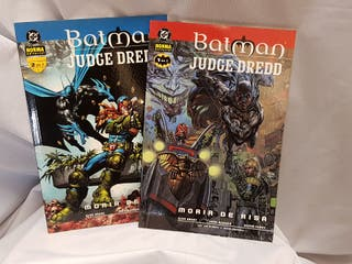 """Batman y Judge Dredd """"Morir de Risa"""""""