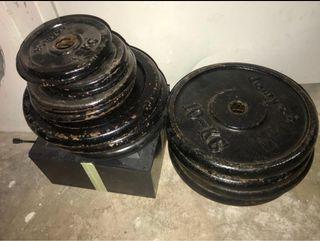 Discos de pesas (pesos)