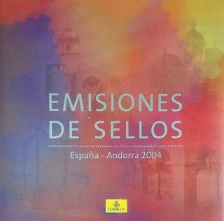 Album sellos España 2004, 2007, 2008