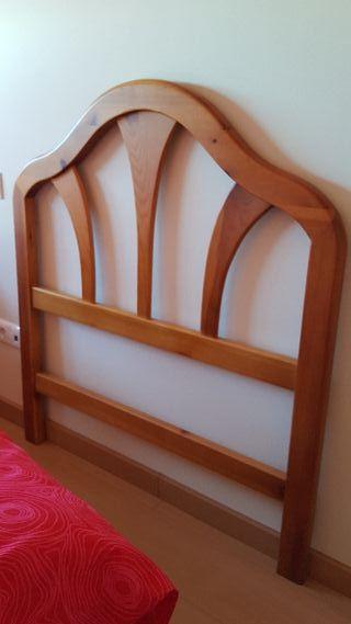 cabecero madera de pino habitaciones