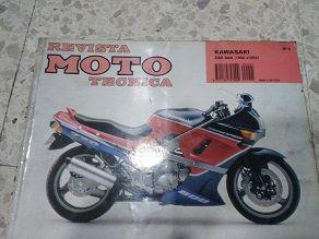 Revista Kawasaki ZZR 600 90/92