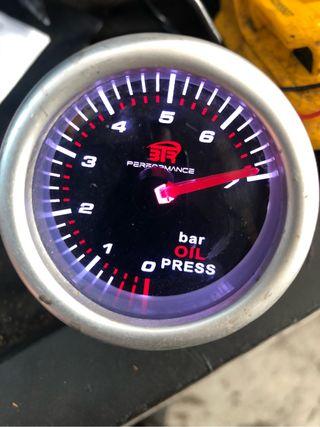 Reloj de presion de aceite