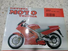 Revista técnica Honda VFR 750 L y M 90/91