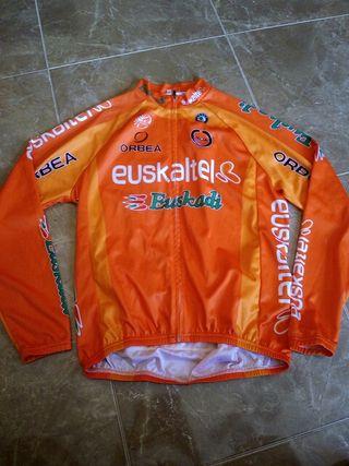 maillot manga larga bicicleta,euskadi