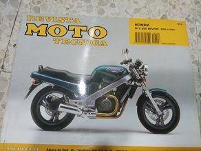 Revista técnica Honda NTV 650 Revere