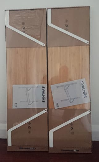 IKEA SVALNÄS Wall-mounted workspace