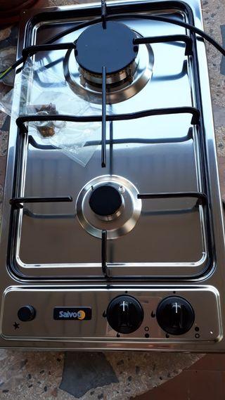 Placa de gas y butano 51x29cm a ESTRENAR