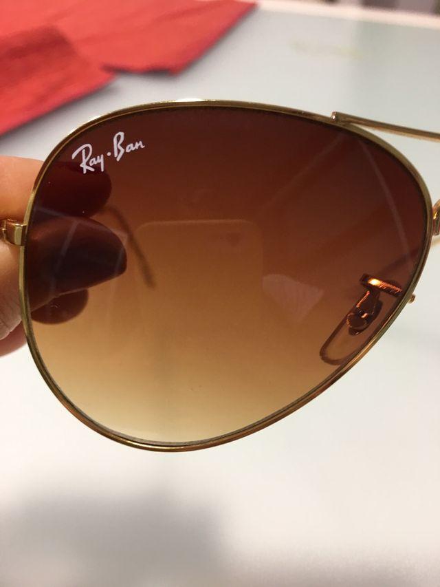 Gafas de sol aviador mujer RAY BAN originales