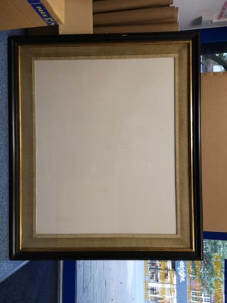 picture frame - used glass glazed large