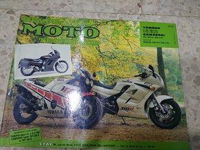 Revista tecnica Yamaha XJ 600 FZ 600 Kawasaki GPZ