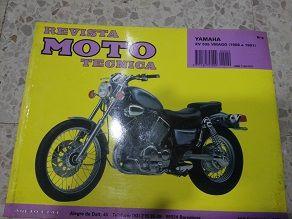 Revista tecnica Yamaha XV 535 Virago 88/91
