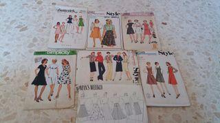 patrones de ropa de los años 70