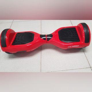 Hoverboard s6 rojo niños + hoverkart de regalo