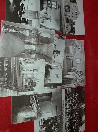 postales antiguas colegio San José ciudad lineal