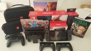 Pack Nintendo Switch. Consola, juegos y mucho mas