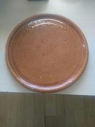 plato de barro