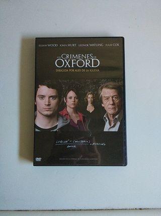 DVD Los Crímenes De Oxford