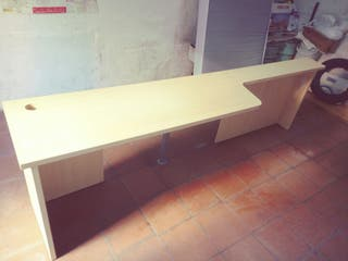 Mesa larga escritorio de estudio