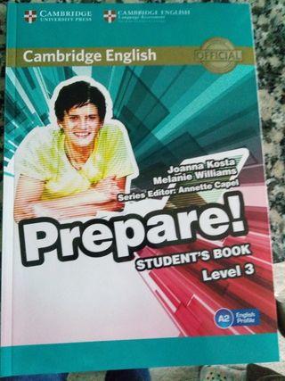 prepare students book level 3