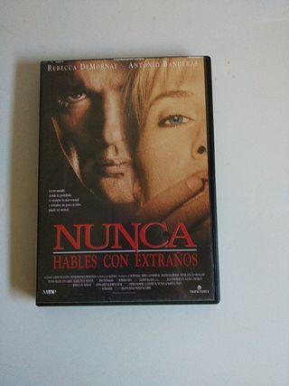 DVD Nunca hables con extraños