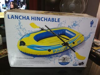 canoa hinchable.
