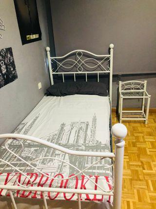 Dormitorio 90 x 190