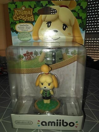 AMIIBO ISABELLE ANIMAL CROSSING SWITCH WII U DS