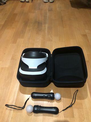 Gafas VR PS4 y mandos MOVE