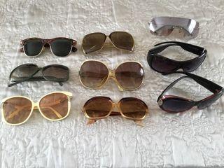 Selection of Ladies Designer Sun Glasses.