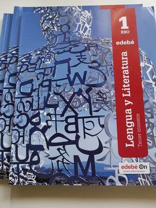 Libro texto Lengua. 1 ESO
