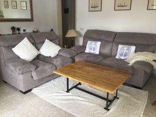 Conjunto dos sofas semi nuevos