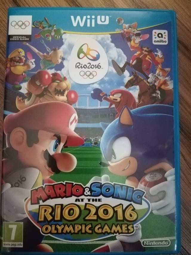 Juego Wii U Mario Amp Sonic Rio 2016 De Segunda Mano Por 18 En