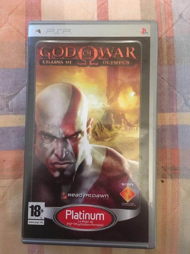 God of war chains of olympus PSP de segunda mano por 10 € en