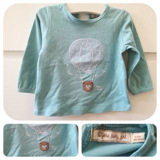 Camiseta manga larga_3-6 meses_Sfera