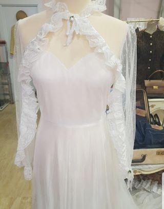 Vestido novia vintage madrid