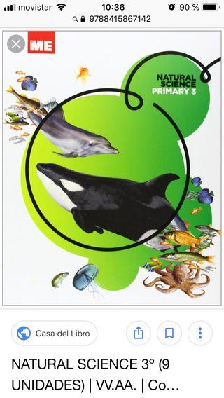 Libro science 3 primaria