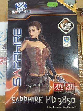 tarjeta Gráfica Sapphire HD 3850 ATI