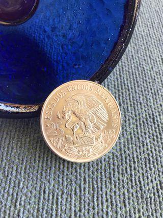 Moneda PLATA de Ley - JJOO MEXICANOS 1968