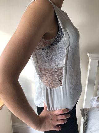 White smart shirt from Zara